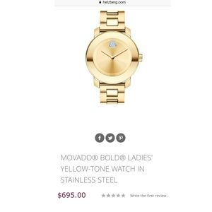 Flash ⚡️SALE ! Movado Bold watch