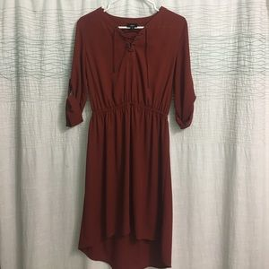 Mossimo red orange dress