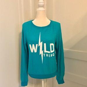 WILDFOX Wild Thing Pullover Sweatshirt