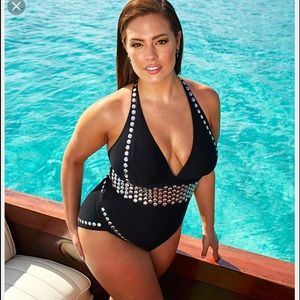 """Other - Ashley Graham """"heist"""" one piece bathing suit"""