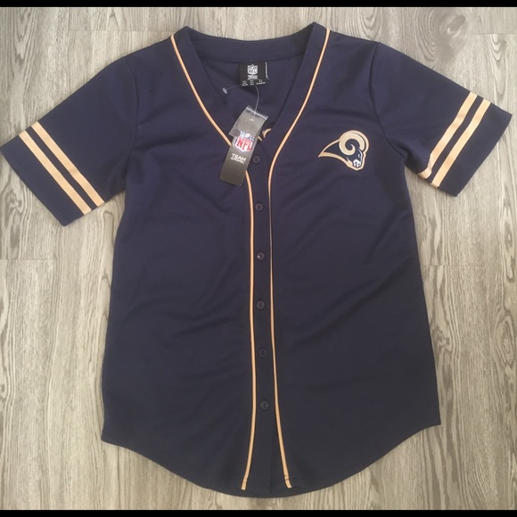 Rams baseball Jersey 09b59783b