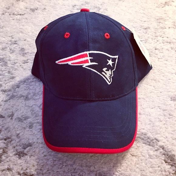 Navy blue   red New England Patriots hat f8991c20061
