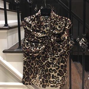 Bebe Size L silk blouse.