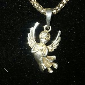 Jewelry - TRADE.    925 Angel necklace