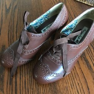 American Eagle by Payless Shoes - Worn Once Brown American Eagle Oxford Heals