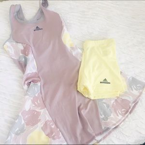 Adidas by Stella McCartney Dresses & Skirts - Adidas by Stella McCartney Yellow & Lilac Dress