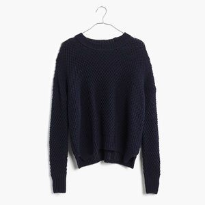 Madewell Sweaters - Madewell French Quarter Pullover in Navy
