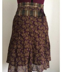 Urban Outfitters Dresses & Skirts - Urban Outfitters Lux Print Tie Waist Full Skirt