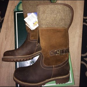 80ae2f7c Nordstrom Shoes - Bos & Co Hillory Leather/Suede/Wool snow boots NWT
