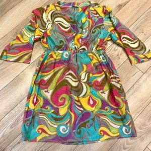 Trina Turk Other - Trina Turk | Colorful Tunic Cover Up Dress