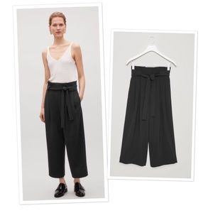 COS Pants - Cos wide waist pleated trousers pants