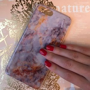 Accessories - MARBLE  TRENDY IPHONE 7 PLUS CASE GG