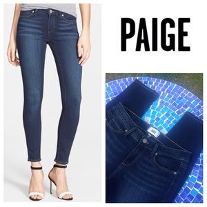 Paige Jeans Denim - NEW!  Paige Verdugo ankle skinny jeans- imperfect