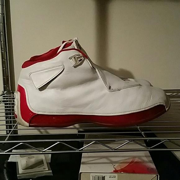 b55957f0ae2 Jordan Other - Nike Air Jordan XVIII 18 (2003) White / VarsityRed