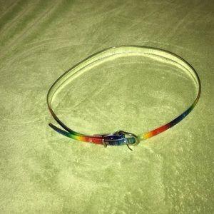 "Other - rainbow 33"" belt"