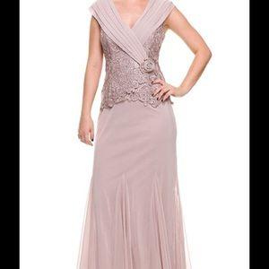 Patra Dresses & Skirts - Patra Lace Bodice Jersey Dress