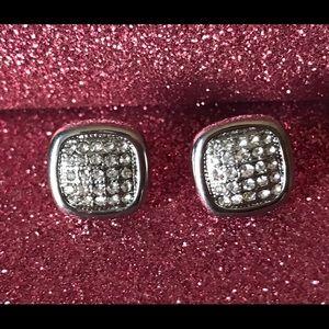 Adia Kibur Jewelry - Crystal Stud Earrings