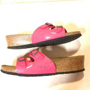 Birkenstock Papillio Pink Slide Sandals Size 7