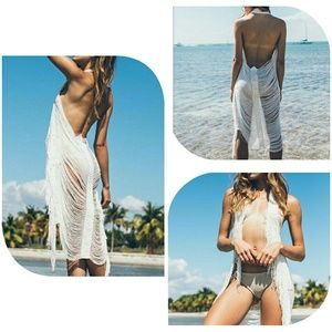 Other - 2017 clothing cardigan Beach Sexy backless dress h