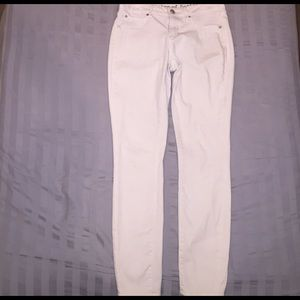 Articles Of Society Denim - Articles Of Society White Skinny Jeans