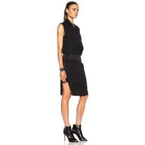 Helmut Lang Dresses & Skirts - NWT! HELMUT LANG / Drape front dress