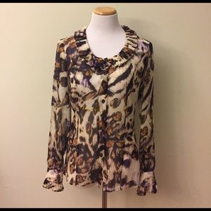 Etcetera Tops - NEW Etcetera Silk Blouse Size 4