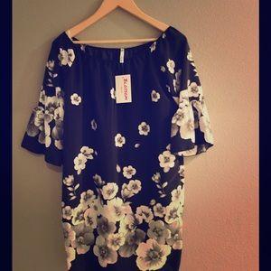 The Blossom Apparel Dresses & Skirts - Cute poly blend mini