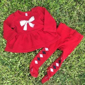 Falke Other - Cherokee Sweatshirt dress with Falke leggings 3-6M
