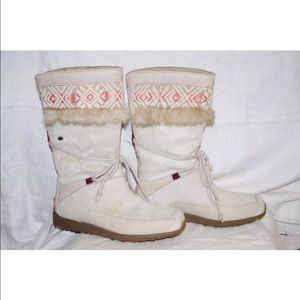 Tecnica Shoes - Fur Embroidered Boots