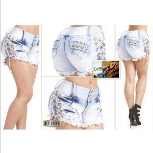 Colombian Butt Lift Shorts