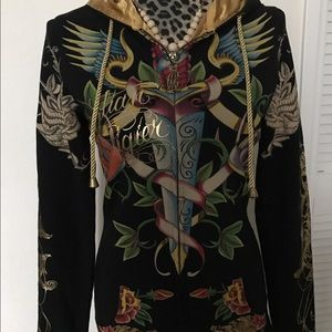 Christian Audigier Tops - Christian Audigier Hoodie