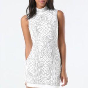 bebe Dresses & Skirts - 🔥SALE🔥 Bebe Iridescent white dress