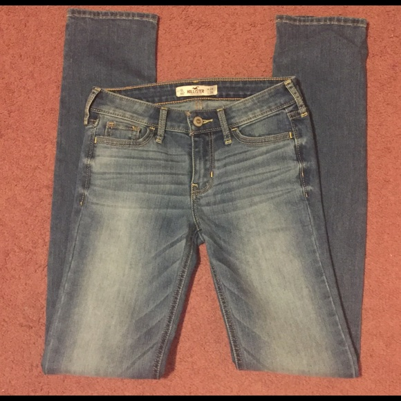 Hollister - SALE!!! NWOT Hollister medium wash Skinny ...
