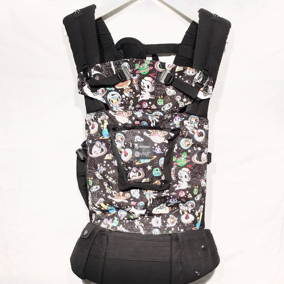 849e47663c3 Lillebaby Tokidoki Space Place Black Baby Carrier