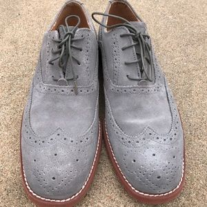 Florsheim Other - FLORSHEIM Men's Shoes Gray Wingtip OXFORD Lace Up