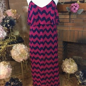 Ultra Flirt Dresses & Skirts - Ultra Flirt maxi dress sz L