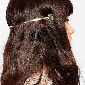 ASOS Accessories - 🖤💙 A S O S Golden Octagon Back Headband