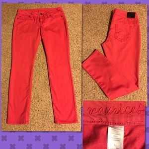 Maurices Denim - Maurice's Hot Pink Jeans. Size L