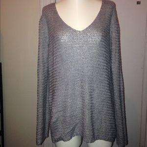H&M oversized v-neck sweater