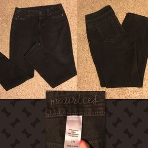 Maurices Denim - Maurice's Black Jeans size L