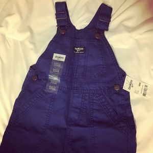 Osh Kosh Other - NWT navy blue jean overalls