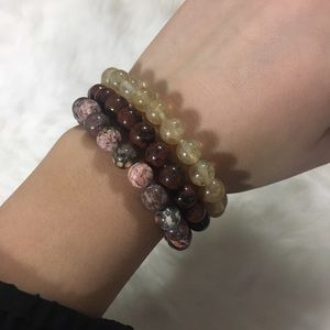 Jewelry - 🌺Handmade 3pc beaded bracelets