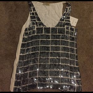 SPY Tops - Brand new sequenced tank!