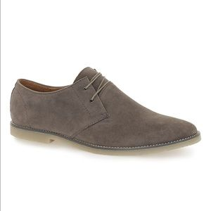 Topman Other - TopMan Grey Faux Suede Derby Shoes