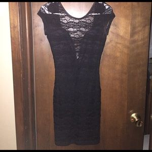 a'gaci Dresses & Skirts - Black lace dress