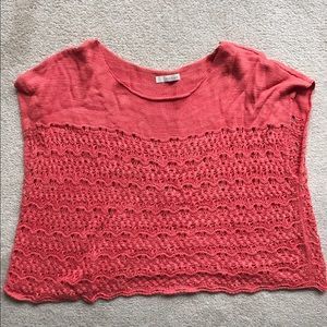 Hinge Sweaters - Hinge Crocheted boxy sweater