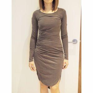 Taupe/olive Halston Heritage dress