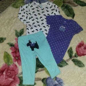Carter's Other - Baby girl 9 month outfit