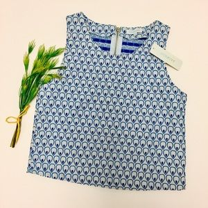 Francesca's Collections, Jacquard Cropped Tank