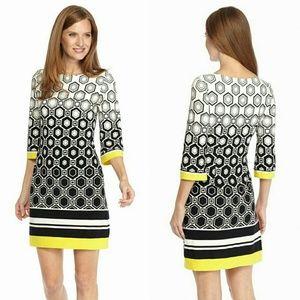 Studio 1  Dresses & Skirts - Studio 1 Geo Print Shift Dress Gorgeous Dress!